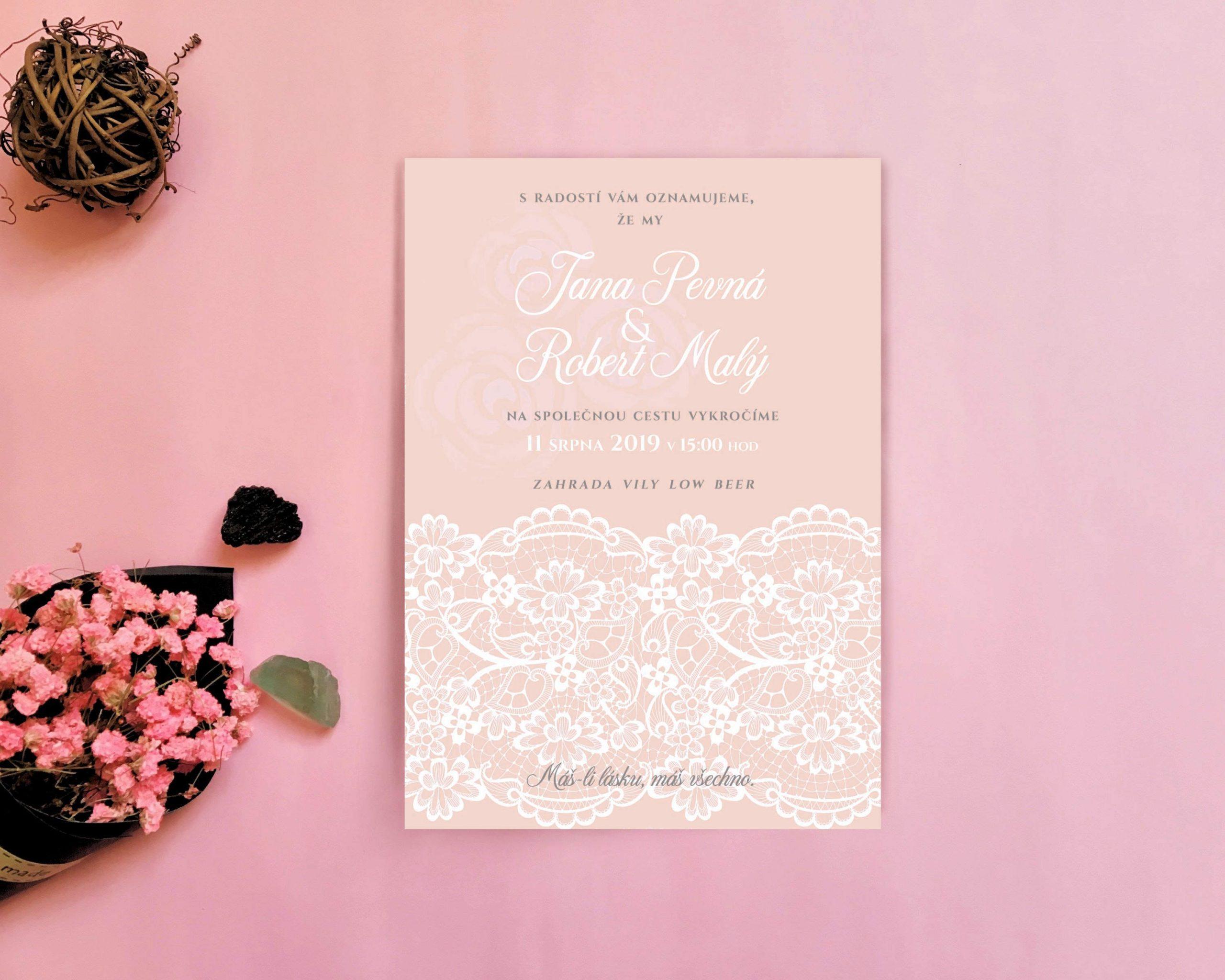 svatebni oznameni, svatebni pozvanky